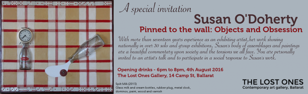 Susan O'Doherty invite The Lost Ones Gallery
